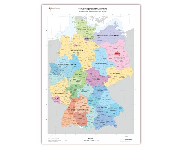 Deutschlandkarte Ausdrucken