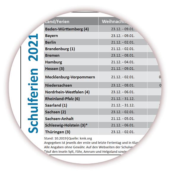 Kalender 2021 Baden-Württemberg / Neu Posterkalender ...